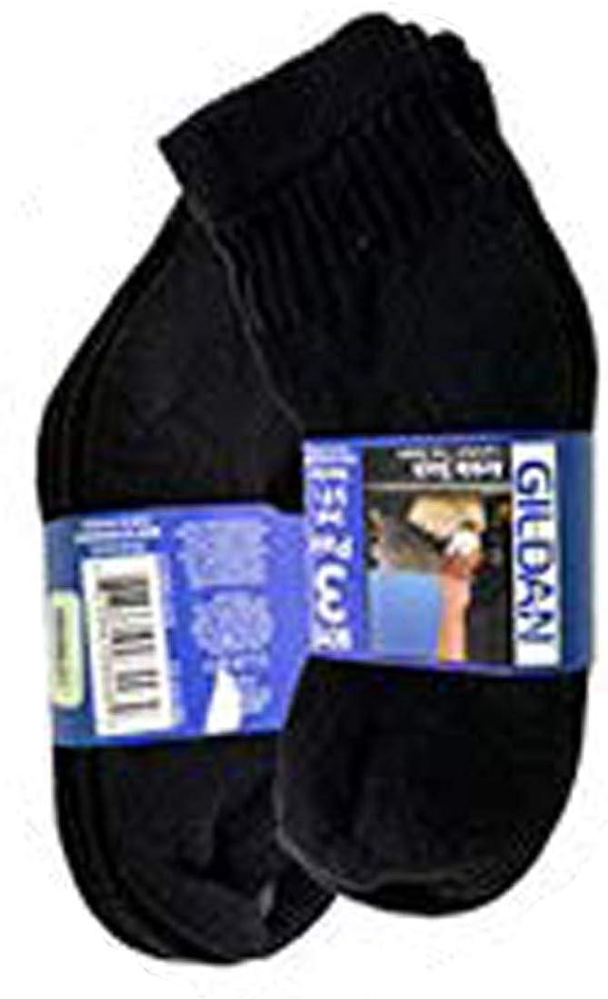 2x Lot 3 Pair Gildan Toe Seam Boy Crew Socks Comfort Toe Seam Bo