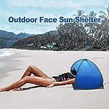 YYWJ Sun Shelters - Toldo de sombra instantánea, refugio solar portátil con bolsa de transporte, para playa, camping, pesca, senderismo, picnic