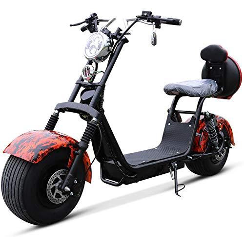 CSCR Motociclo Elettrico Doppia Gente Auto Elettrica per Adulti Operazione...
