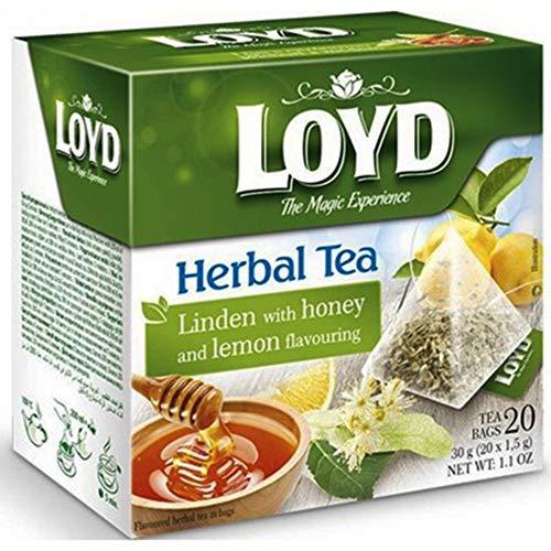 Loyd Kräutertee 20 Pyramidenbeutel Kräuter Tee herbal Tea pyramid bags