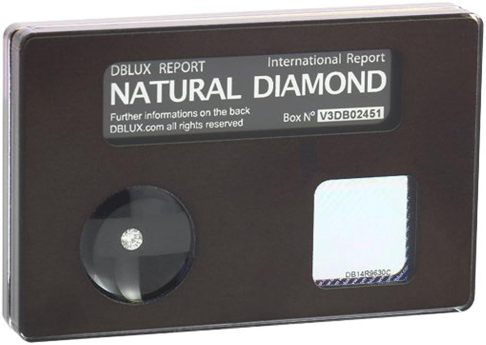 dblux diamanti naturali certificati con dedica personalizzabile diamonds 2.0