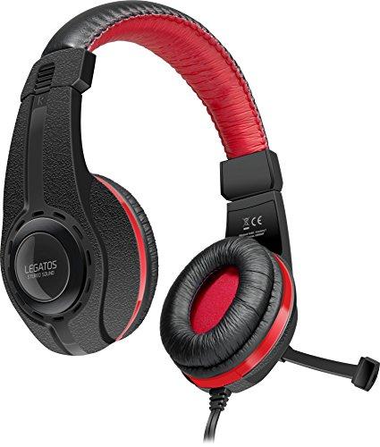 Photo of Speedlink Legatos Stereo Gaming Headset SL-450302-BK, Fold-Away Microphone, Softly Padded Headband, Easy, DualShock Connection, Black