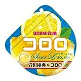味覚糖 コロロ サワーレモン 40g × 12袋入(6×2)
