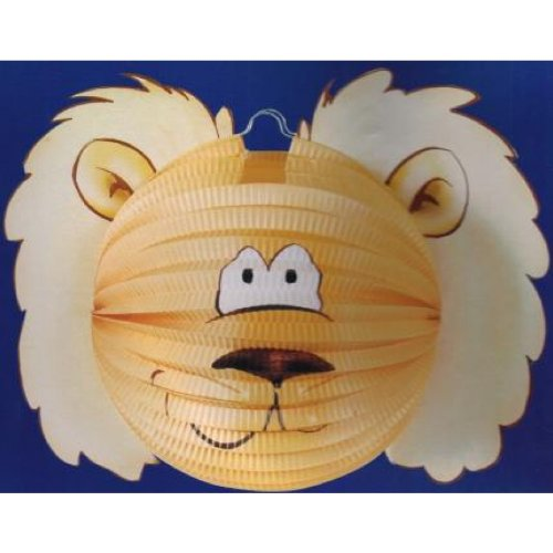 Everflag Ballonlaterne/Lampion: Löwe mit Mähne 35cm
