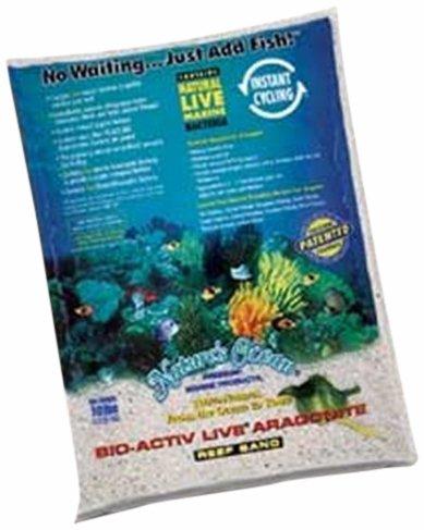 WORLD WIDE IMPORTS ENTERPRISES Todo el Mundo Las importaciones awwa20701–Live Aragonito Arena para Acuario Decor, 10-Pound