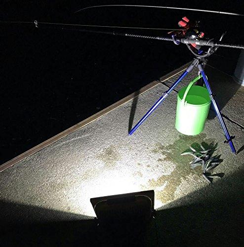 『LED投光器 20W 充電式 バッテリー内蔵 6500K ホワイト 防水防塵 防災対策 地震 防犯 アウトドアに大活躍』の7枚目の画像