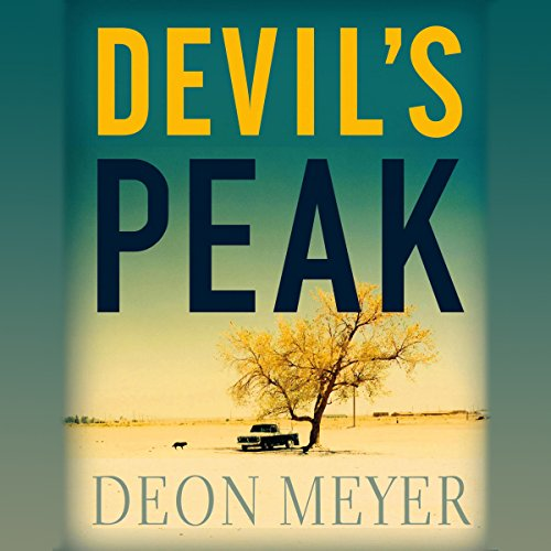 Devil's Peak audiobook cover art