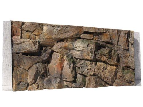 Aquarium Rückwand 3D Felsen 100x40 bei Robizoo
