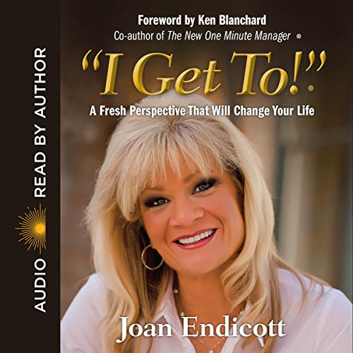 """I Get To!""® audiobook cover art"