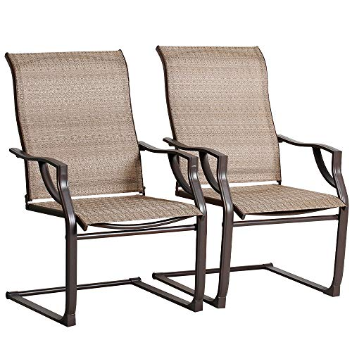2-Pc Bali Outdoors Spring Motion Patio Dining Chairs Set Only $98.99 (Retail $169.99)
