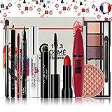 Coffret de Noel Maquillage - 10 Essentiels de maquillage Dans une boite Box...
