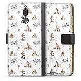 DeinDesign Étui Compatible avec Huawei Mate 10 Lite Étui Folio Étui magnétique Winnie l'ourson...