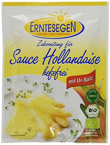 Erntesegen Sauce Hollandaise fuer 0,2l Bio Sauce, 12er Pack (12 x 30 g)