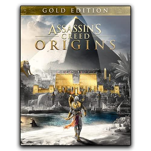 Asassins Creed Origins GOLD Edition – Digital Download – [ NO DVD NO CD ] – [No Multiplayer/No Redeem* Code] – PC Full Game