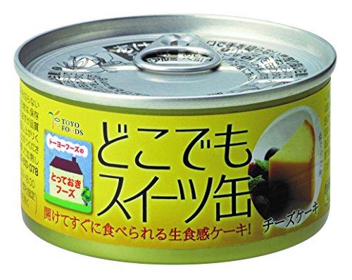 トーヨーフーズ どこでもスイーツ缶(チーズケーキ)150g×24個