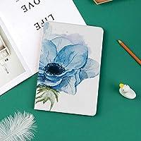 印刷者IPad Pro 11 ケースiPad Pro 11 カバー 軽量 薄型 PUレザー 三つ折スタンド オートスリープ機能 2018年秋発売のiPad Pro 11インチ専用水彩画に花が咲くと素朴な花柄のデザインが跳ねる装飾