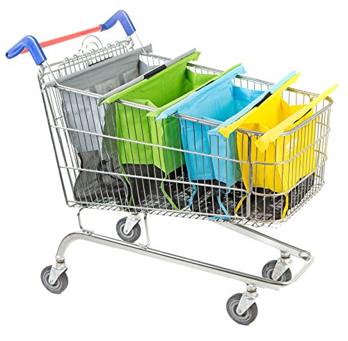 Trolley Bags Einkaufen-Laufkatze-Beutel Wiederverwendbare Einkaufstaschen (Original, Pastel)