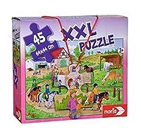 XXL Puzzle Ferien auf dem Ponyhof. 45 Teile
