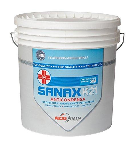 Sanax K21 Lt 4 Pittura certificata Anticondensa, Antimuffa, Antibbatterica, Igienizzante