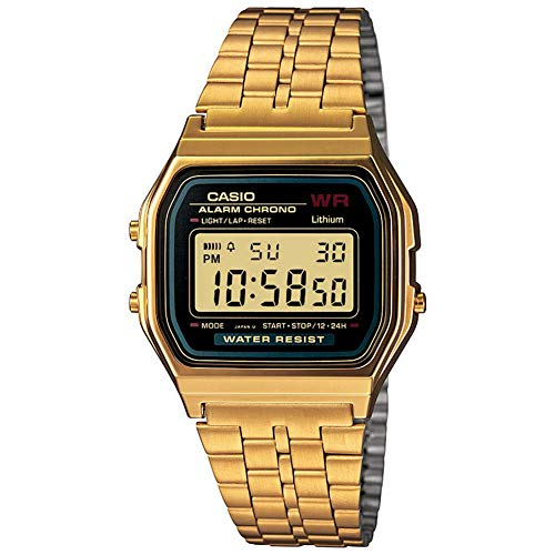 G-Shock Casio Vintage A159WGEA-1VT Gold One Size