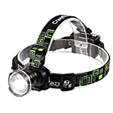 CrazyFire LED Headlamp, Super Bright Headlamp Headlight Flashlight, 3...
