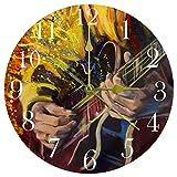 TIKISMILE Jazz Guitarristas manos jugando guitarra reloj de