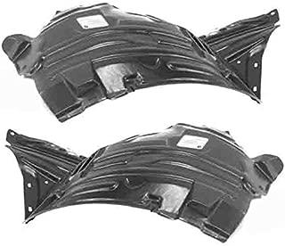 For 12-15 Pilot Front Splash Shield Inner Fender Liner Panel Left Right SET PAIR