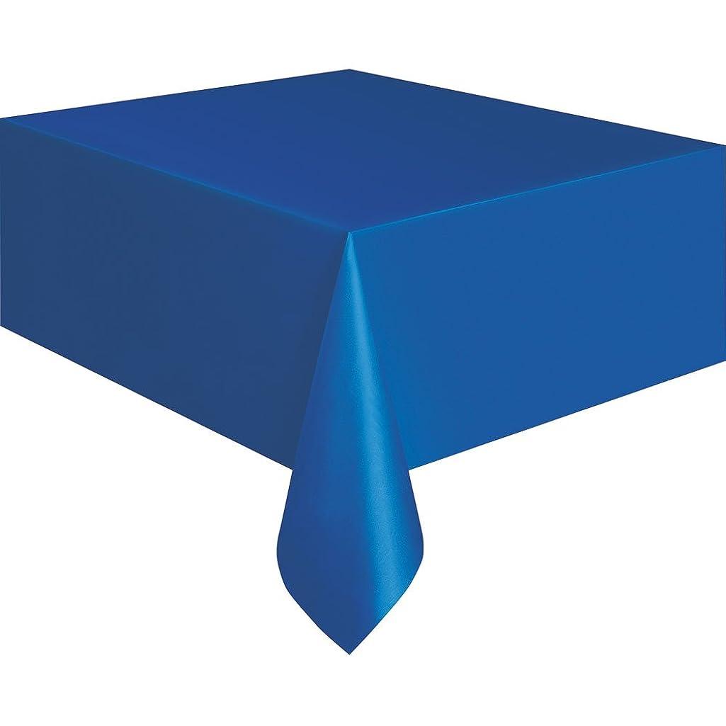 Royal Blue Plastic Tablecloth, 108