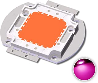 High Power Led Chip 100W Full Spectrum Plant Grow Light (390nm-800nm/3500mA/DC 30V-34V/100 Watt) SMD COB Emitter Diode Components 100 W Bead for DIY Hydroponic Flowers Growing Lamp