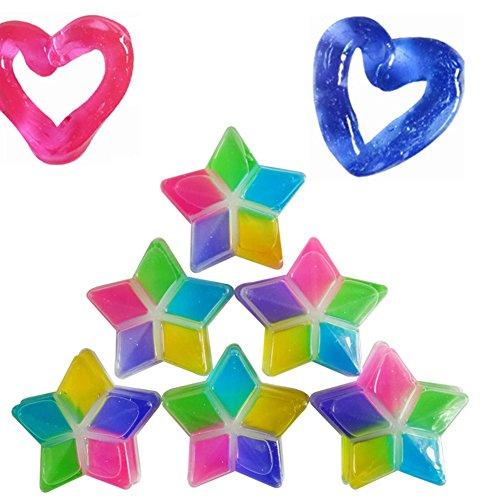 Farbe magischen Kristall Schlamm, Morbuy Kind bunten Kristall Schlamm Überschall- Kinderzimmer handgemachte DIY Spielzeugsicherheit und Umweltschutz Plastilin. (6PCS)