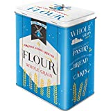 Nostalgic-Art 30140Home y Country Flour, Tarro L, Metal, Multicolor, 10x 14x 20cm