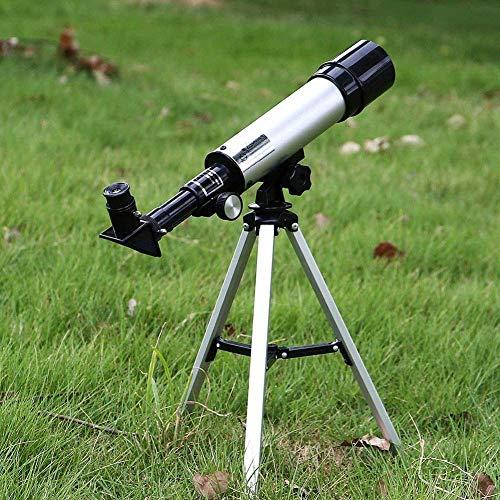 Telescopios for astronomía, telescopio refractor de 70 mm portátil for principiantes y niños con trípode ajustable BBGSFDC