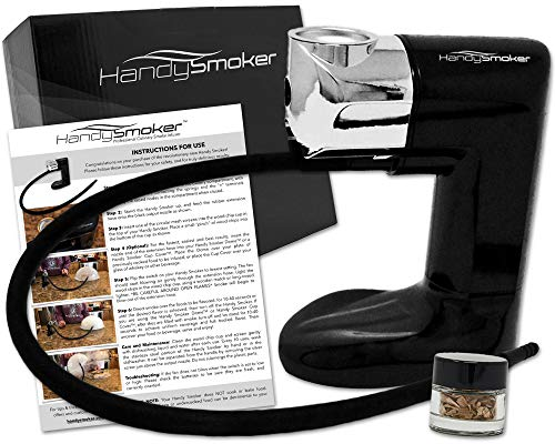 Handy Smoker PRO Cold Smoker - Hand Held Smoke Gun for Smoking Food - Smoke Infuser Adds Real Wood Smoked Flavor to Food & Drink