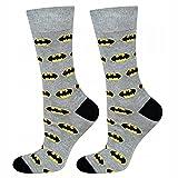 soxo Chaussettes Homme Hautes Colorées   taille 40-45   Socquettes Batman   en Coton   idéales pour Chaussures Hautes et Basses   Excellent ajout à Votre Garde-robe