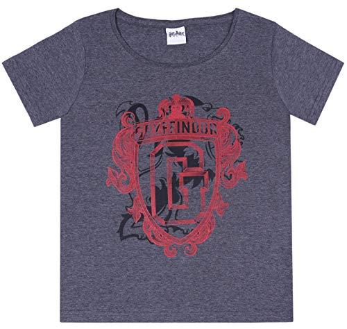 Dunkelgraues T-Shirt für Frauen Gryffindor Large