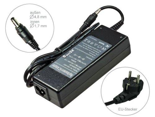90W Alimentador Cargador Notebook AC Power compatible con HP Compaq Pavilion dv6500 dv6700 dv6800 DV6834eg dv6900 dv8000 dv8100 dv8200 dv8300 dv9000, con eurocable