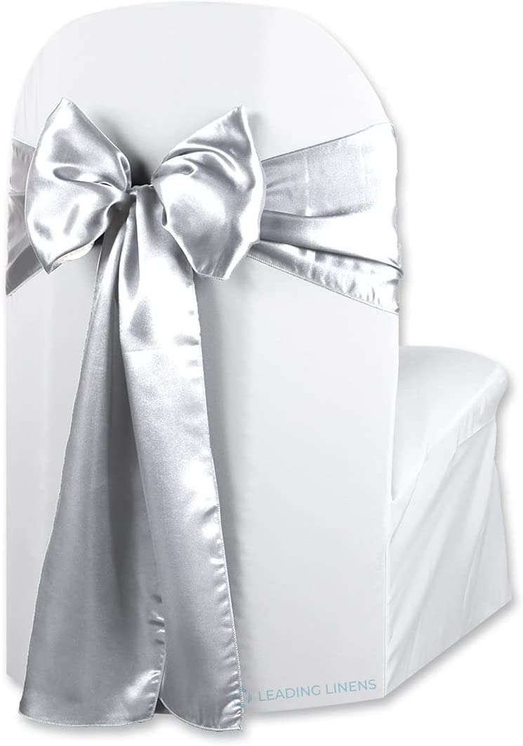Max 43% OFF Sparkles Make It Special Max 73% OFF Leading Linens 100 Satin pcs Chair Cove