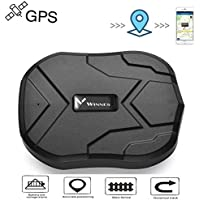 TKSTAR GPS TK905 Strong Magnetic GPS Tracker  3 Months Standby Rechargable Tracker For Vehicle Car Truck Real Time Positioning Anti Theft Tracking Device Waterproof GPS Locator