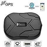TKSTAR GPS Tracker Anti-perso Localizzatore GPS per Auto//Veicoli// Camion//Moto// Nave Tramite App Gratuita 10000mAh,150 Giorni in Standby Impermeabile TK905B