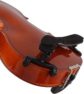 SSEDEW Adjustable Violin Shoulder Rest Plastic EVA Padded for 3/4 4/4 Violin Violin Parts & Accessories