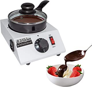 ALDKitchen Chocolate Melting Pot | Professional Chocolate Tempering Machine with Manual Control | Heated Chocolate | 110V | (Single (1.2 kg)