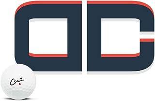 Cut Blue DC Golf Balls, (One Dozen)