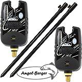 Angel-Berger 2X Elektronische Bissanzeiger mit Tele Erdspeer
