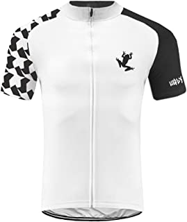 Sports Wear Uglyfrog Ropa Ciclismo, Maillot sin Manga Corta, Camiseta Verano de Ciclistas,Transpirable Secado rápido,Especial for Racing