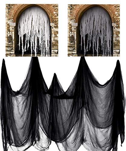 "Daimon Halloween Creepy Cloth 14 Yards X 90"" Creepy Spooky Halloween Decorations"