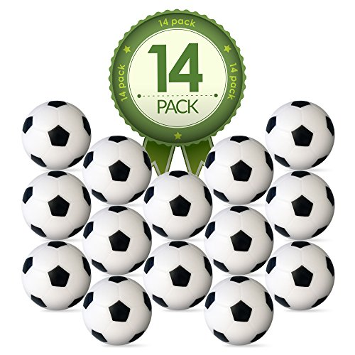 Colonel Pickles Novelties Foosball Table Replacement Foosballs- 14...