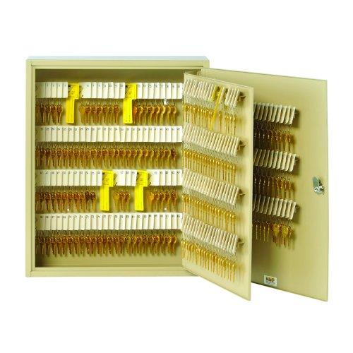 STEELMASTER Unitag Locking 320-Key Cabinet, 16.5 x 20.13 x 4.88 Inches, Sand (201932003)