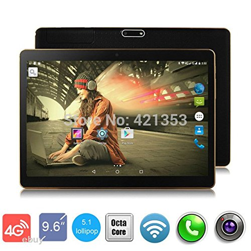 4G LTE Black 9.7 inch 8 core Tablet PC Octa Cores