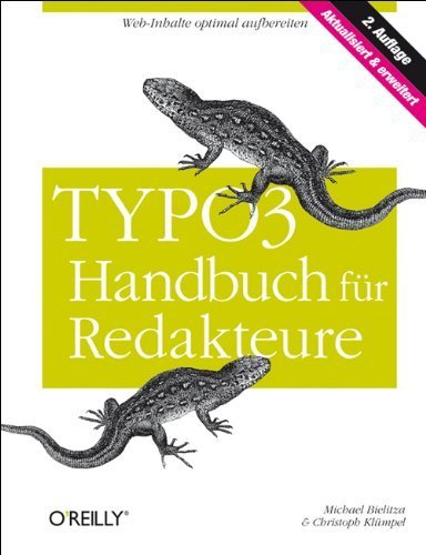 TYPO3-Handbuch für Redakteure von Michael Bielitza (1. August 2009) Gebundene Ausgabe