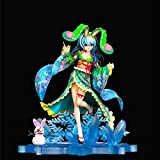 JIAWEI Fecha · A · Carácter Live-Yoshino Yoshinon Figura De Acción-Kimono Yukata Yoshino-Estatua Permanente Animado 24cm Figma Modelo Decoración De La Muñeca Regalo De Colección Yoshino&Yoshinon